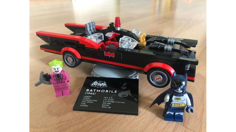 """Lego-Neuheiten: Das Batmobile aus dem TV-Klassiker """"Batman"""""""