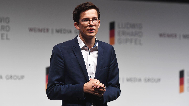 Felix Finkbeiner spricht beim Ludwig-Erhard-Gipfel 2020
