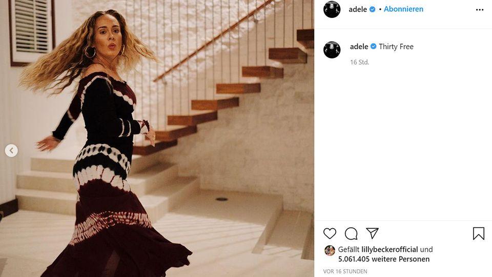 Vip News: Adele postet neue Fotos zu ihrem 33. Geburtstag