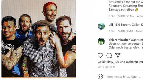 "Lego aktuell: Screenshot des Lego-Porträts der Alternative-Band ""Donots"""