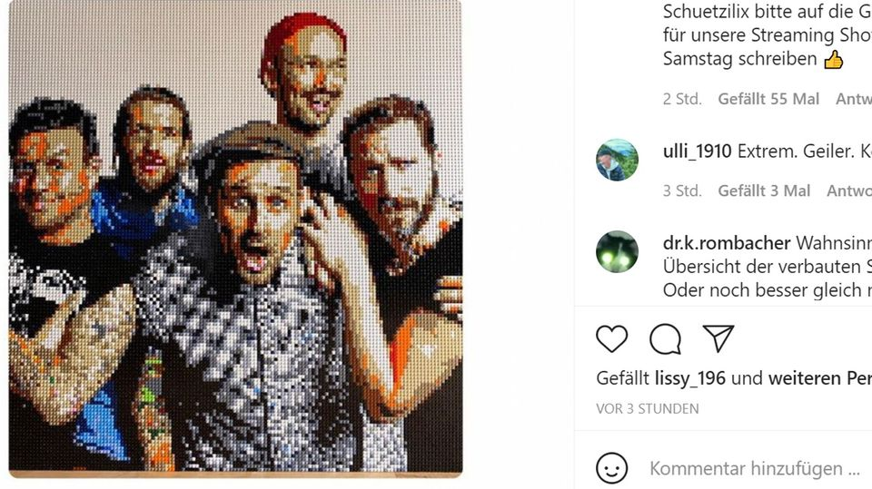 "Lego aktuell: Screenshot des Lego-Porträts der Alternative-Band ""Donots"""