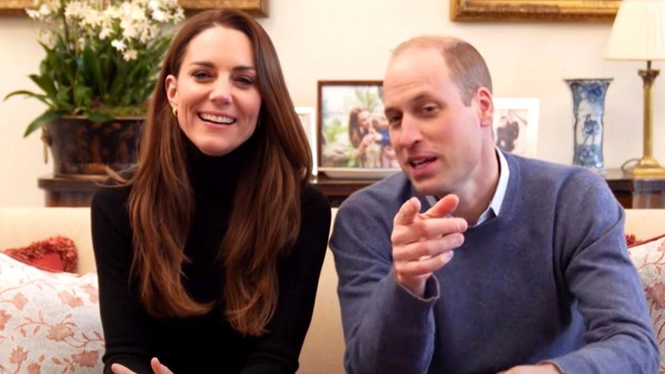 Prinz William und Herzogin Kate haben einen eigenen Youtube-Channel