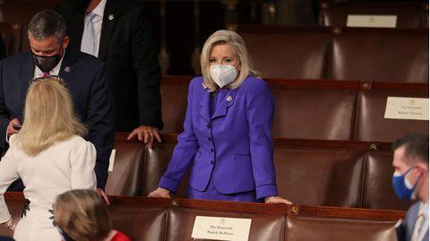 Liz Cheney, Vorsitzende der Republikanischen Konferenz im Repräsentantenhaus