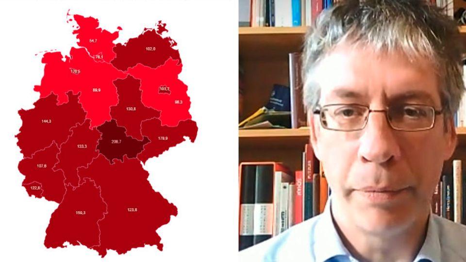 """Schon vier Bundesländer unter 100er-Wert – aber Epidemiologe warnt: """"Müssen jetzt sehr vorsichtig sein"""""""