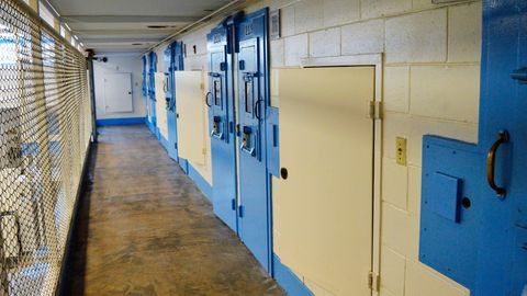 Der Todestrakt im Broad-River-Gefängnisin Columbia im US-BundesstaatSouth Carolina
