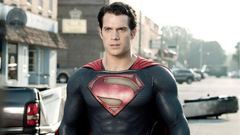"Henry Cavill als ""Superman"""