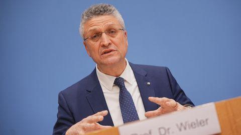 Lothar Wieler, Präsident des Robert Koch-Instituts (RKI)