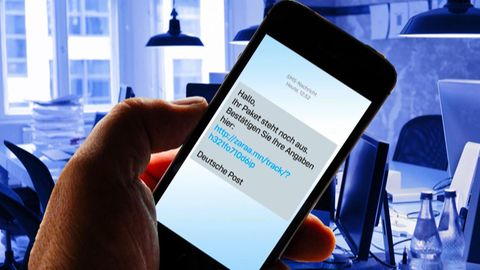 Per SMS: Hinter angeblichen Paket-Sendungsverfolgungen verbergen sich jedoch Gefahren.