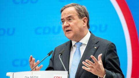 Unions-Kanzlerkandidat und CDU-Bundesvorsitzender Armin Laschet