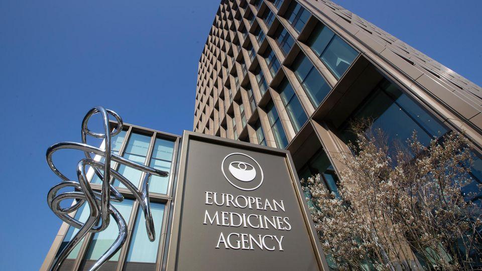 Außenansicht der Europäischen Arzneimittel-Agentur (EMA)