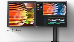 Ein 21.9 Monitor von LG