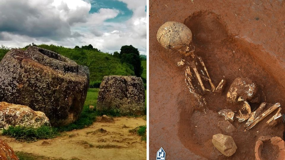 Archäologen lüften Rätsel um mysteriöse Steinformationen in Laos