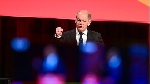 Olaf Scholz, Bundesfinanzminister und Spitzenkandidat der SPD für die Bundestagswahl 2021