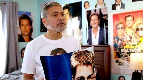 Urkomische Werbekampagne: So denkt George Clooney wirklich von Brad Pitt