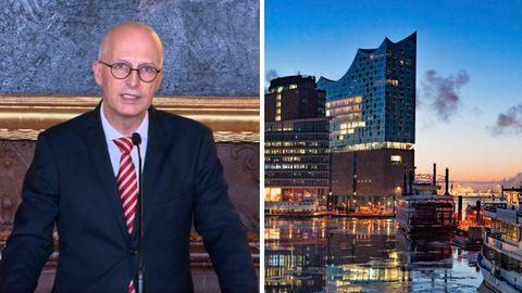 Hamburgs Bürgermeister Peter Tschentscher (SPD) die dritte Welle der Coronavirus-Pandemie in seiner Stadt gebrochen