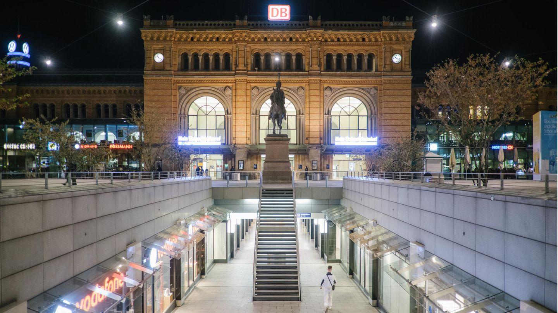 Der Hauptbahnhof von Hannover