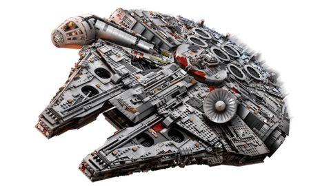 """Lego aktuell: Das Bauset """"Millennium Falcon"""" besteht aus mehr all 7500 Teilen"""