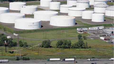 Öllager der FirmaColonial