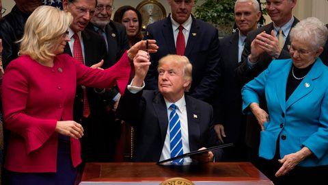 Liz Cheney und Donald Trump