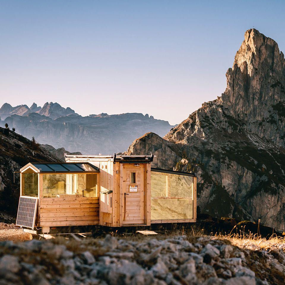 Haus am Gipfel / Foto: Giuseppe Ghedina