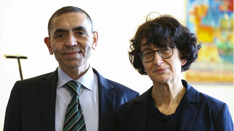 Biontech-Gründer Ugur Sahin und ÖzlemTüreci.