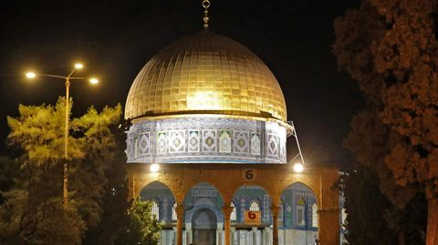 Der Felsendom auf dem Tempelberg in Jerusalem (Archivfoto)