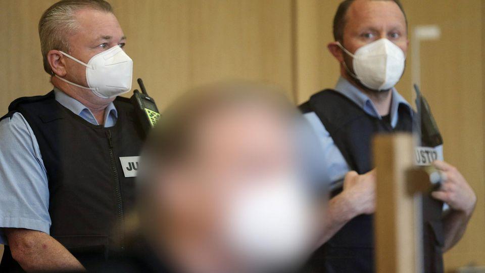 Der 51 Jahre alte Angeklagte im Landgericht Aachen