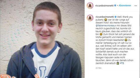 """Vip-News: """"Wer ist der Junge auf diesem Foto?"""": Deutscher Entertainer postet altes Jugendbild"""