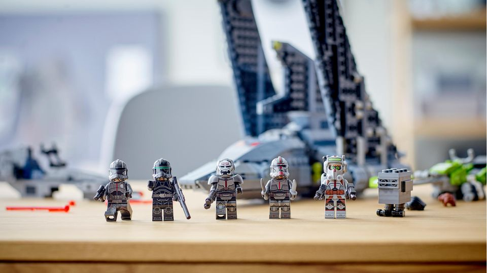 "Lego aktuell: ""The Bad Batch"" Attack Shuttle mit sechs Minifiguren"