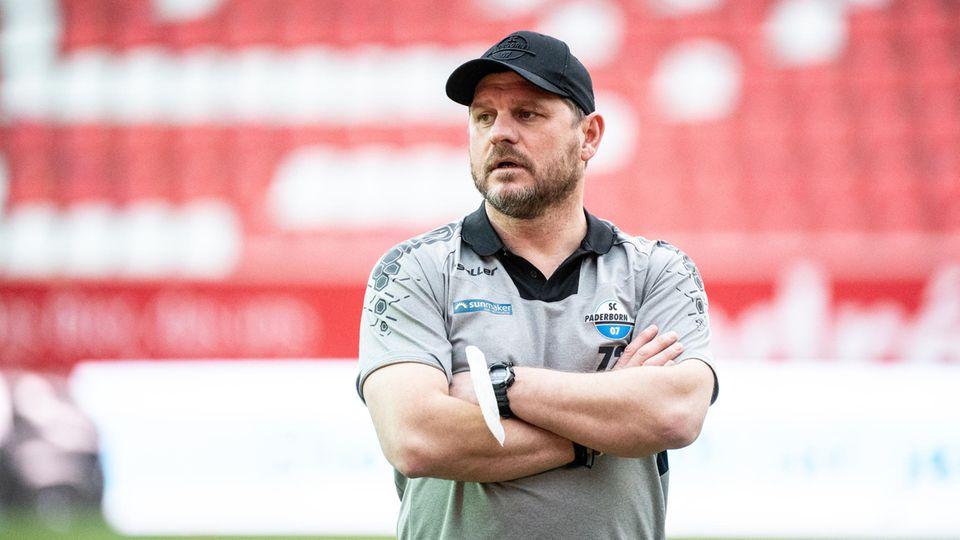 Trainer Steffen Baumgart