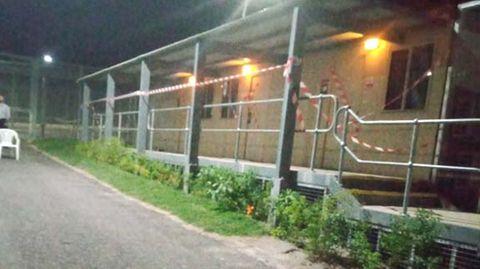 In diesemLagerkomplex im Yongah Hill Detention Center wurde der Tunnel entdeckt.