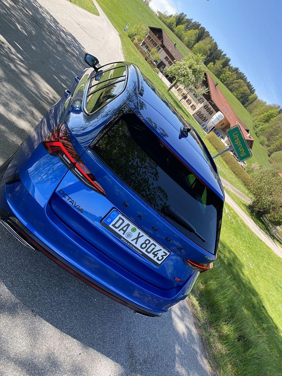 Skoda Octavia Combi RS 2.0 TDI wird bei Dienstwagenfahrern seine Abnehmer finden
