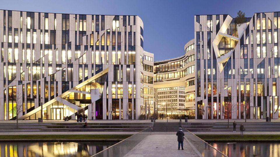 Kö-Bogen in Düsseldorf von Daniel Libeskind