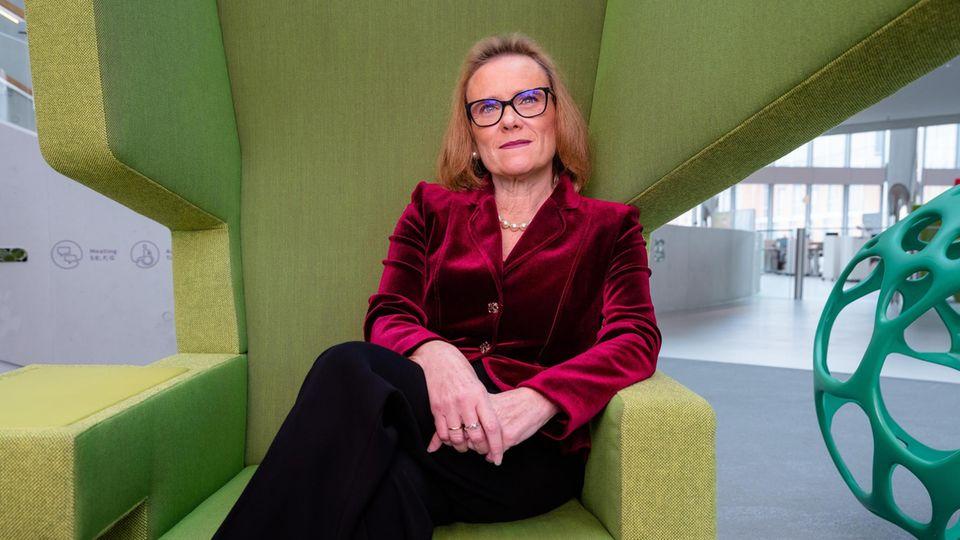 Belen Garijo, spanische Medizinerin und stellevertretende Vorstandsvorsitzende von Merck in Darmstadt. Ab 1. Mai 2021 wird sie den Vorsitz der GeschŠftsleitung Ÿbernehmen. Sie ist dann die einzige Frau an der Spitze eines DAX-Konzerns. ©BerndHartung/Ag...