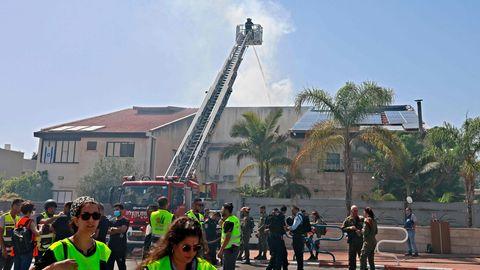 Haus von Hamas-Rakete getroffen