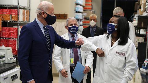 Biden trifft Corbett