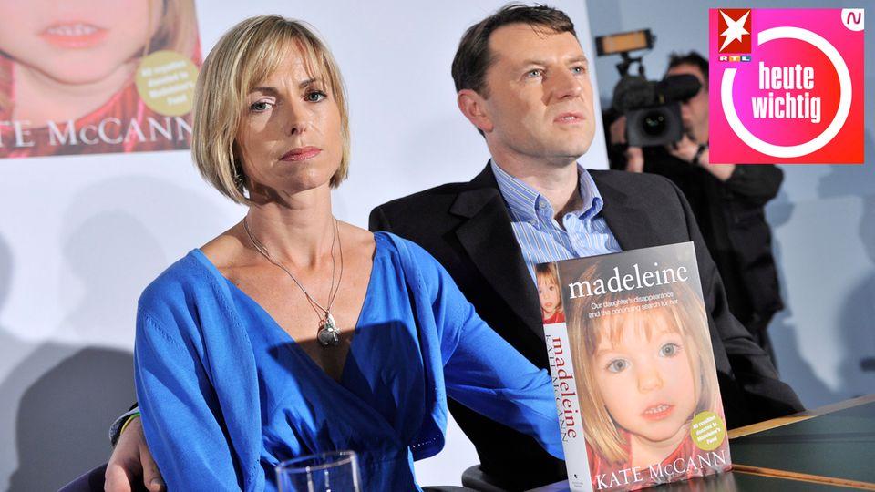 Die Eltern von Madeleine McCann bei der Präsentation ihres Buches