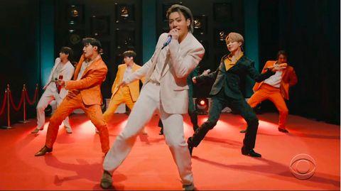 BTS bei einem Auftritt