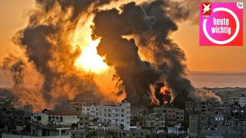 Militante Palästinenser im Gazastreifen haben HunderteRaketen auf Israel abgefeuert, die israelische Armee reagierte ihrerseits mit Luftangriffen