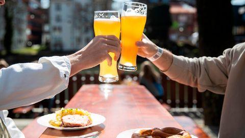 Die ersten Biergärten haben geöffnet