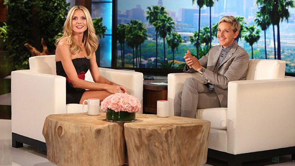 Heidi Klum und Ellen DeGeneres