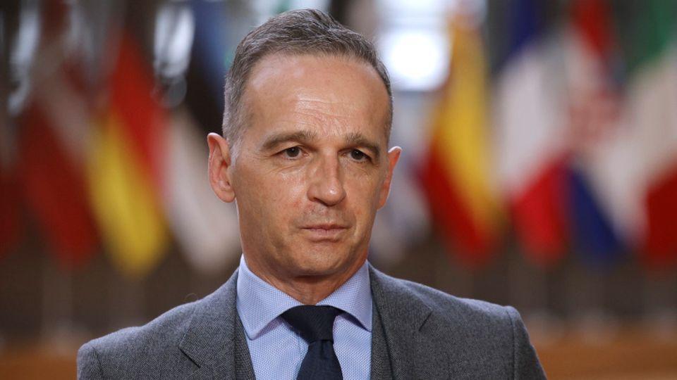 """News von heute: Außenminister Heiko Maas: """"Für Angriffe auf Synagogen darf es in unserem Land null Toleranz geben"""""""