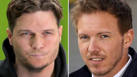 Die Trainer der Pokalfinalisten: Edin Terzic (BVB), Julian Nageslamm (RB Leipzig)