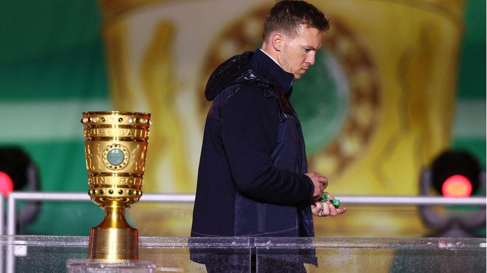 Nagelsmann und der Pokal