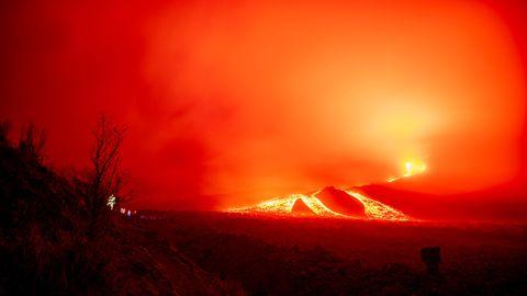 Vulkan Pacaya in Guatemala ausgebrochen