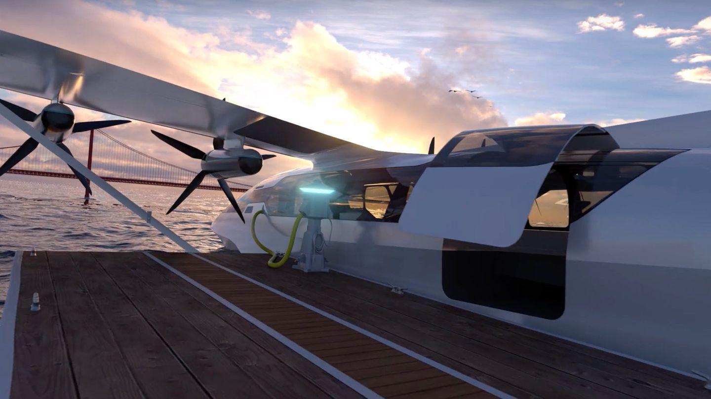 Der Seagilder kann von jedem Pier aus starten. Zum Aufladen benötigt er allerdings einen entsprechenden Stromanschluss.