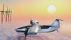 Anders als beim Airfish 8 mit seinen umgekehrten Delta-Flügeln ist das Tragfächen-Design konventionell.