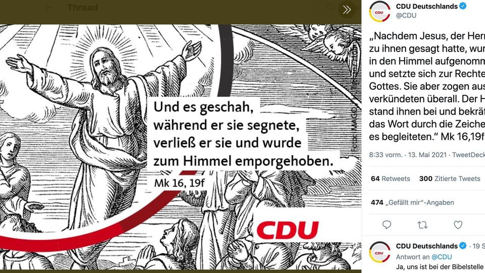 CDU-Tweet