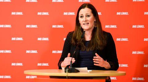 Janine Wissler, Co-Bundesvorsitzende von Die Linke