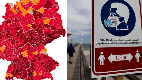 Infektionsschutzgesetz: Neue Notbremse: Bund will Corona-Regeln überall in Deutschland vereinheitlichen